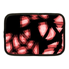 Red Light Netbook Case (medium)  by Valentinaart