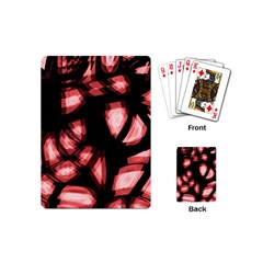 Red Light Playing Cards (mini)  by Valentinaart