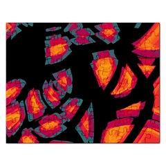 Hot, Hot, Hot Rectangular Jigsaw Puzzl