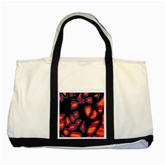 Hot, Hot, Hot Two Tone Tote Bag by Valentinaart