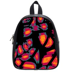 Hot, Hot, Hot School Bags (small)  by Valentinaart
