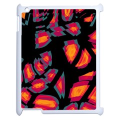 Hot, Hot, Hot Apple Ipad 2 Case (white) by Valentinaart