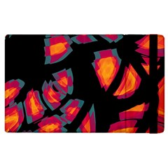 Hot, Hot, Hot Apple Ipad 2 Flip Case by Valentinaart