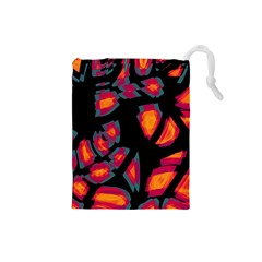 Hot, Hot, Hot Drawstring Pouches (small)  by Valentinaart