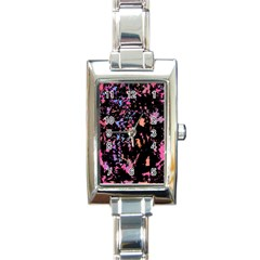 Put Some Colors    Rectangle Italian Charm Watch by Valentinaart