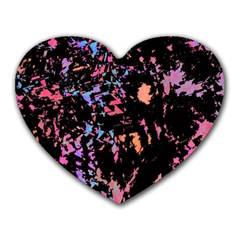 Put Some Colors    Heart Mousepads
