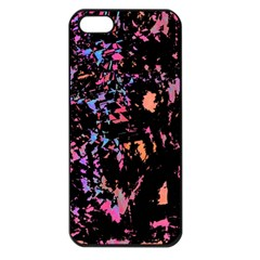 Put Some Colors    Apple Iphone 5 Seamless Case (black) by Valentinaart
