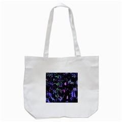 Think Blue Tote Bag (white) by Valentinaart