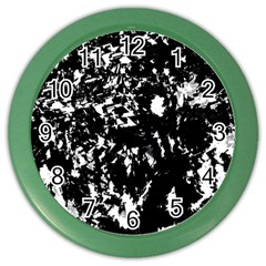 Black And White Miracle Color Wall Clocks by Valentinaart