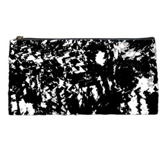Black And White Miracle Pencil Cases by Valentinaart