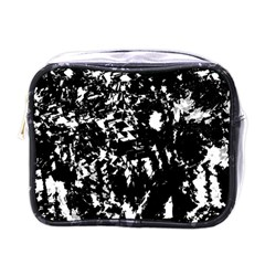 Black And White Miracle Mini Toiletries Bags by Valentinaart