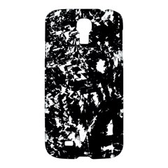 Black And White Miracle Samsung Galaxy S4 I9500/i9505 Hardshell Case by Valentinaart