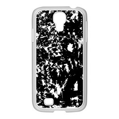 Black And White Miracle Samsung Galaxy S4 I9500/ I9505 Case (white) by Valentinaart