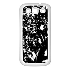 Black And White Miracle Samsung Galaxy S3 Back Case (white) by Valentinaart