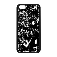 Black And White Miracle Apple Iphone 5c Seamless Case (black)