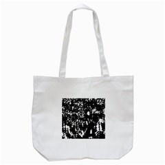 Black And White Miracle Tote Bag (white) by Valentinaart