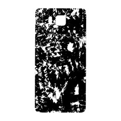 Black And White Miracle Samsung Galaxy Alpha Hardshell Back Case by Valentinaart
