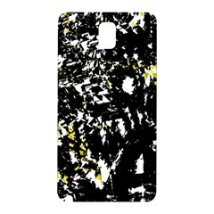 Little Bit Of Yellow Samsung Galaxy Note 3 N9005 Hardshell Back Case by Valentinaart