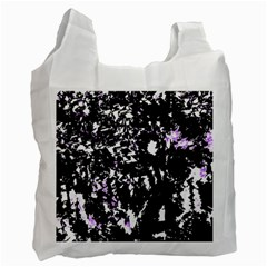 Little Bit Of Purple Recycle Bag (two Side)  by Valentinaart