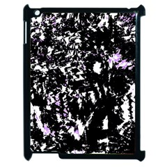 Little Bit Of Purple Apple Ipad 2 Case (black) by Valentinaart