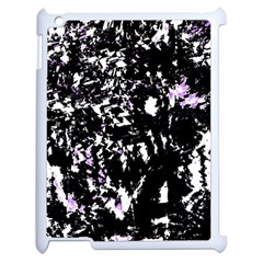 Little Bit Of Purple Apple Ipad 2 Case (white) by Valentinaart