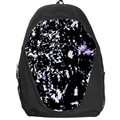 Little Bit Of Purple Backpack Bag by Valentinaart