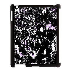 Little Bit Of Purple Apple Ipad 3/4 Case (black) by Valentinaart