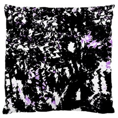 Little Bit Of Purple Large Flano Cushion Case (one Side)