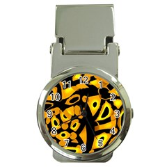 Yellow Design Money Clip Watches