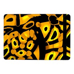 Yellow Design Samsung Galaxy Tab Pro 10 1  Flip Case by Valentinaart