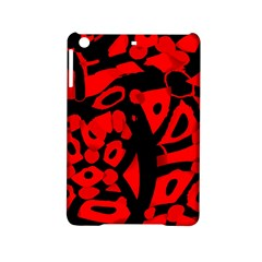 Red Design Ipad Mini 2 Hardshell Cases by Valentinaart