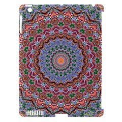 Abstract Painting Mandala Salmon Blue Green Apple Ipad 3/4 Hardshell Case (compatible With Smart Cover) by EDDArt