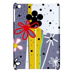 Flowers Apple Ipad Mini Hardshell Case by Valentinaart