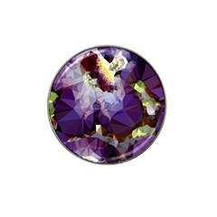 Purple Abstract Geometric Dream Hat Clip Ball Marker (4 Pack) by DanaeStudio