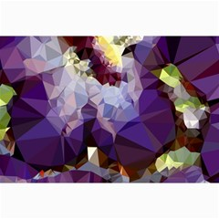 Purple Abstract Geometric Dream Collage Prints by DanaeStudio
