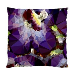 Purple Abstract Geometric Dream Standard Cushion Case (one Side) by DanaeStudio