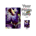 Purple Abstract Geometric Dream Playing Cards 54 (Mini)  Front - Joker1