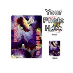 Purple Abstract Geometric Dream Playing Cards 54 (Mini)  Front - Joker2
