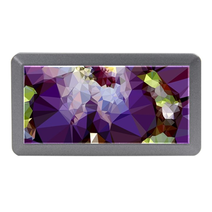 Purple Abstract Geometric Dream Memory Card Reader (Mini)