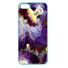 Purple Abstract Geometric Dream Apple Seamless Iphone 5 Case (color) by DanaeStudio
