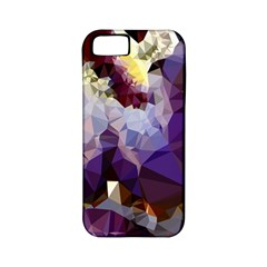 Purple Abstract Geometric Dream Apple Iphone 5 Classic Hardshell Case (pc+silicone)