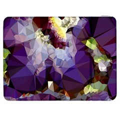 Purple Abstract Geometric Dream Samsung Galaxy Tab 7  P1000 Flip Case by DanaeStudio