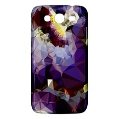 Purple Abstract Geometric Dream Samsung Galaxy Mega 5 8 I9152 Hardshell Case  by DanaeStudio