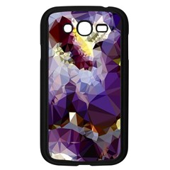 Purple Abstract Geometric Dream Samsung Galaxy Grand Duos I9082 Case (black) by DanaeStudio