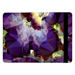 Purple Abstract Geometric Dream Samsung Galaxy Tab Pro 12 2  Flip Case by DanaeStudio