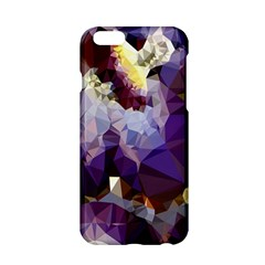 Purple Abstract Geometric Dream Apple Iphone 6/6s Hardshell Case by DanaeStudio