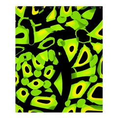 Green Neon Abstraction Shower Curtain 60  X 72  (medium)  by Valentinaart