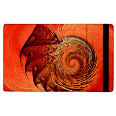 Nautilus Shell Abstract Fractal Apple Ipad 3/4 Flip Case by designworld65