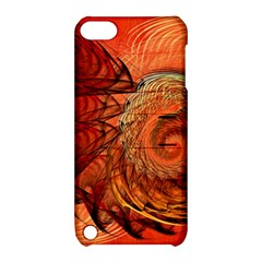 Nautilus Shell Abstract Fractal Apple Ipod Touch 5 Hardshell Case With Stand by designworld65