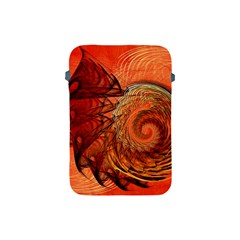 Nautilus Shell Abstract Fractal Apple Ipad Mini Protective Soft Cases by designworld65